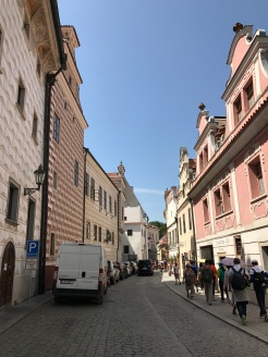 The streets of Chesky krumlov