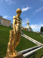 Gold statues eveeywhere